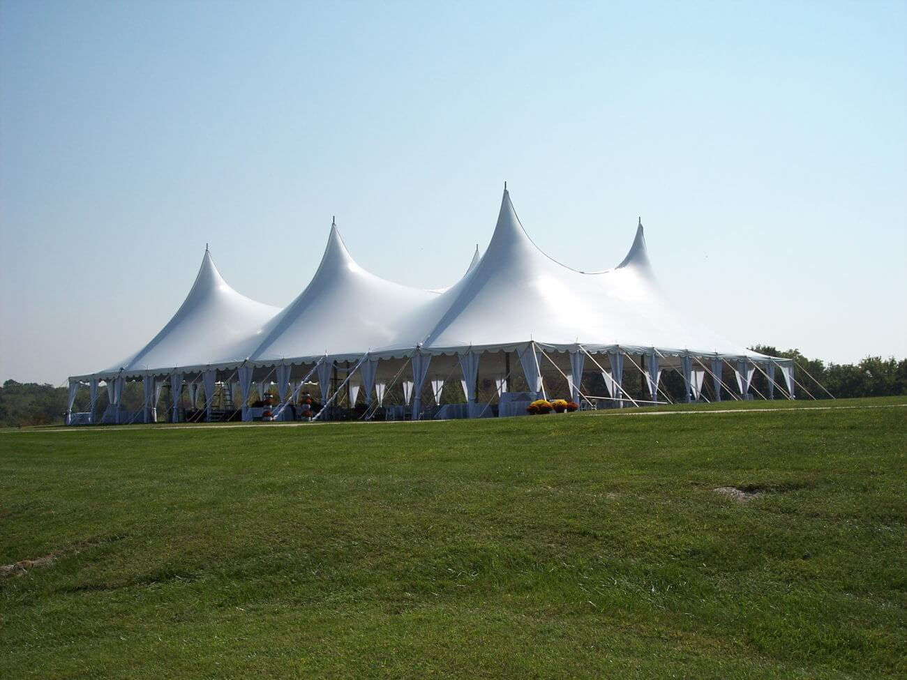Twin pole tension tents - Party Tents for Sale