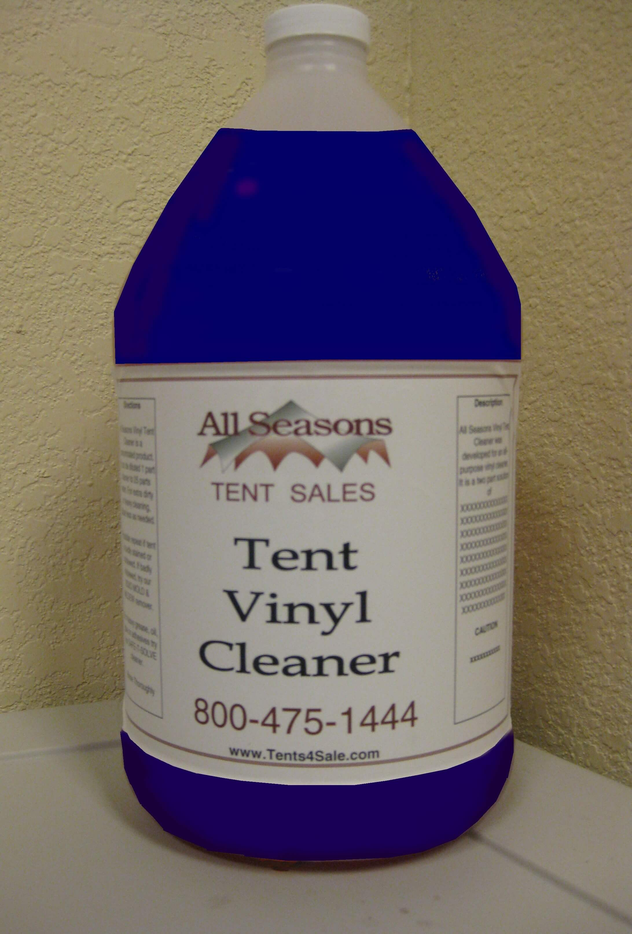 All Purpose Vinyl Tent Cleaner 5 Gallon Bucket Party