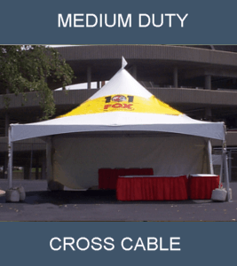 cross cable tent
