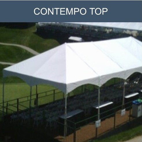 Tension frame tent