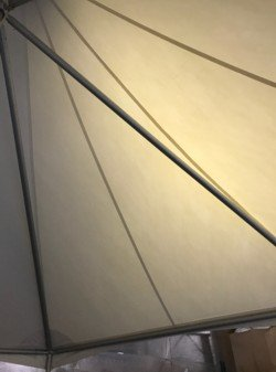 Shearwater Sailcloth Frame Inside